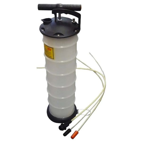 Oil Vaccum Tools Handpump with container